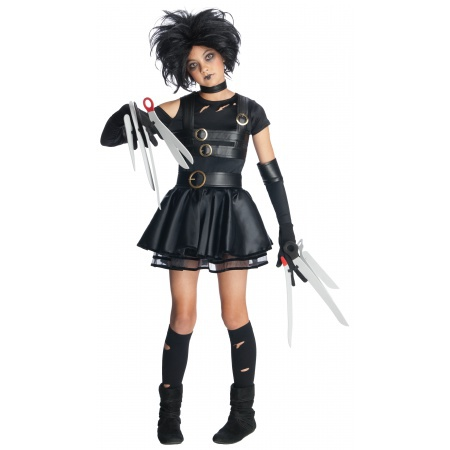 Kids Miss Scissorhands Costume image