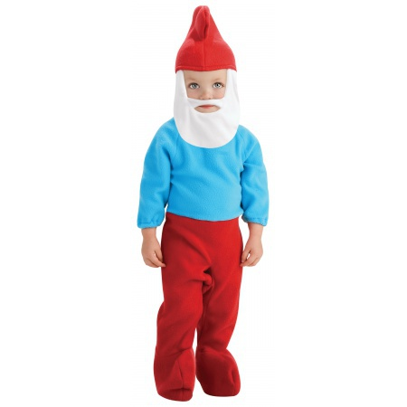 Toddler Papa Smurf Costume image