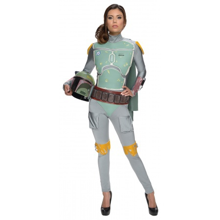 Female Boba Fett Costume image