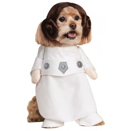 Princess Leia Pet Costume image