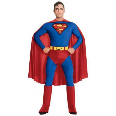 Superman Costume For Men image