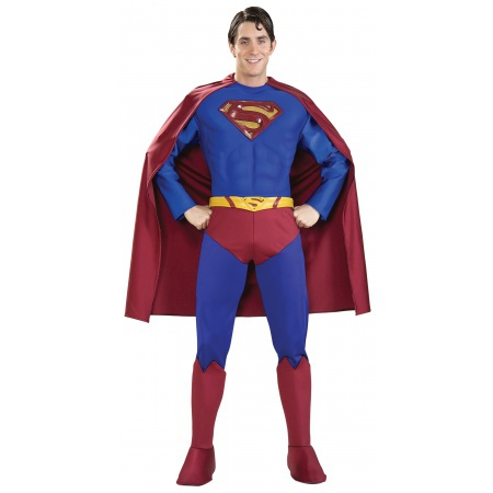 Supreme Edition Superman Costume Superhero Super Friends image