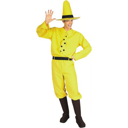 Man In The Yellow Hat Costume Monkey Guy image