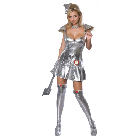 Sexy Tin Man Costume image