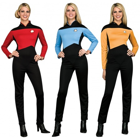 Star Trek TNG Womens Uniform image