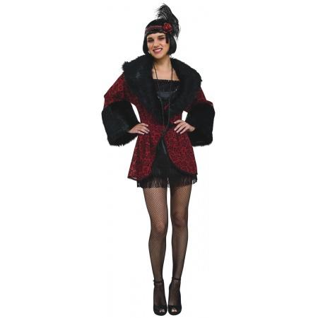 Flapper Costume Coat image