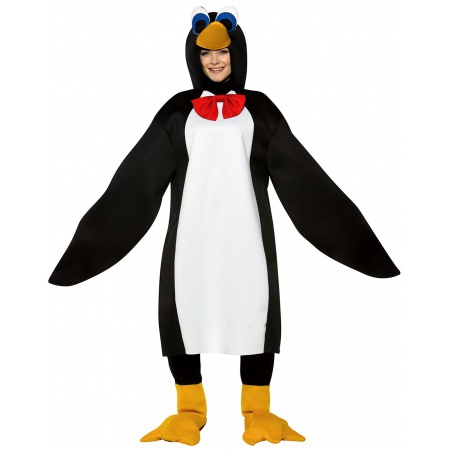 Adult Penguin Costume image