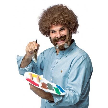 Bob Ross Costume image