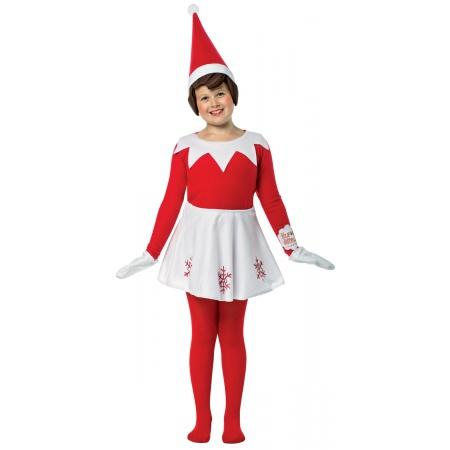 Elf On The Shelf Costume image