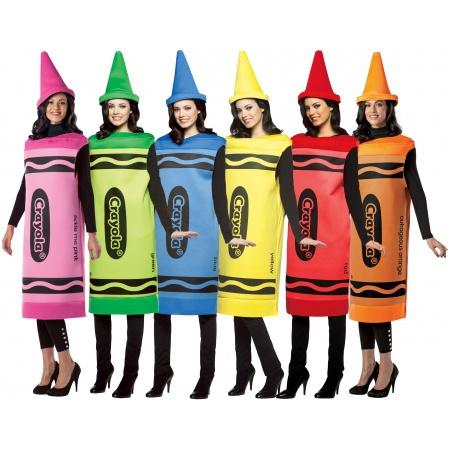Crayola Crayon Costume  image