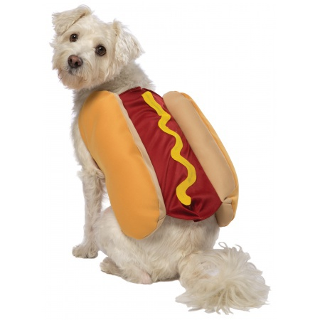 Hot Dog Puppy Costume image