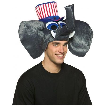 Patriotic Elephant Hat image