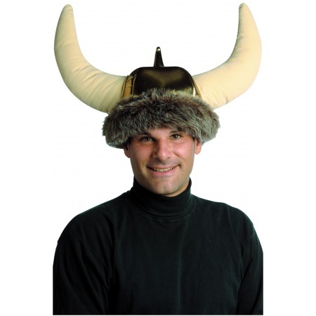 Furry Viking Hat image