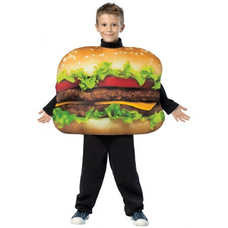 Burger Halloween Costume image
