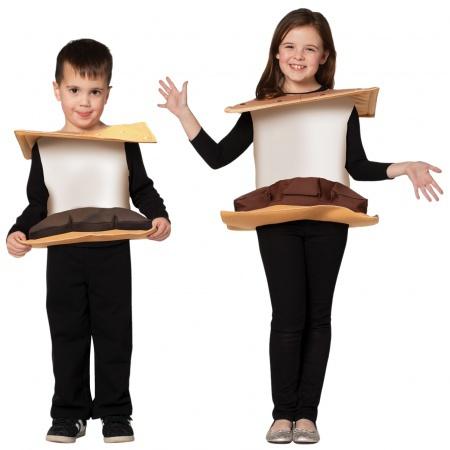 Kids Smores Costume image