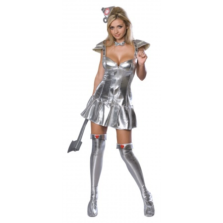 Tin Man Costume For Women image