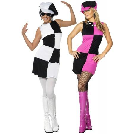 Mod 60s Costume image