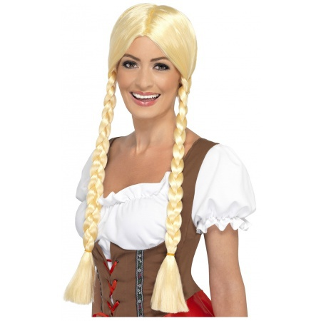 Blonde Braided Wig image