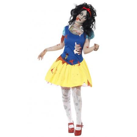 Zombie Snow White Costume image