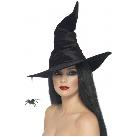 Witch Hat With Spider image