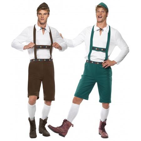Mens German Costume image