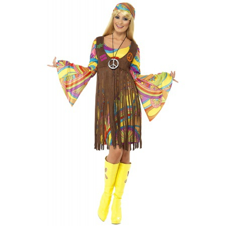 Hippie Costume For Women image