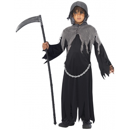 Kids Grim Reaper Costume image