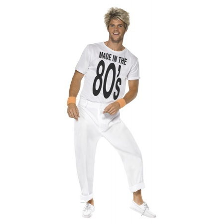 80s George Michael Costume For Men image