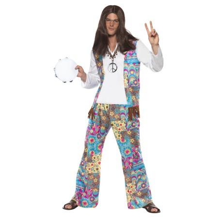 Hippie Costume For Men image