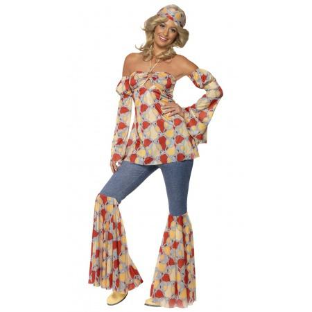 Hippie Girl Costume image