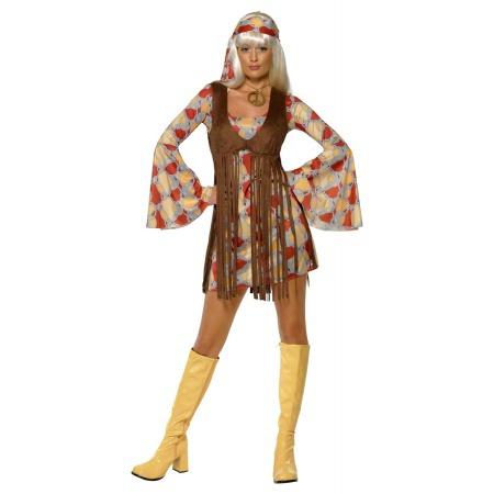 Hippie Halloween Costume image