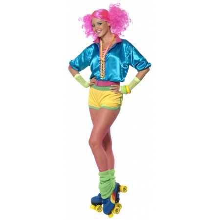 80s Roller Skating Costume image
