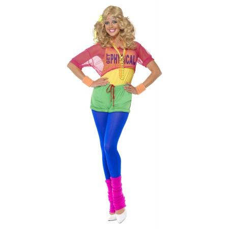 1980s Workout Costume image
