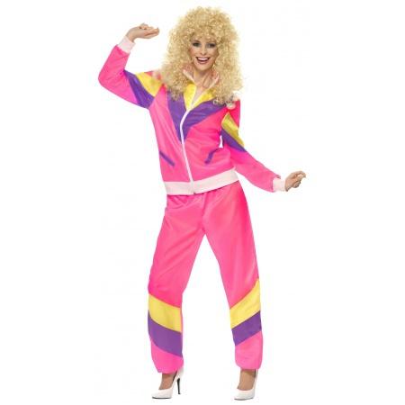 80s Tracksuit Costume image