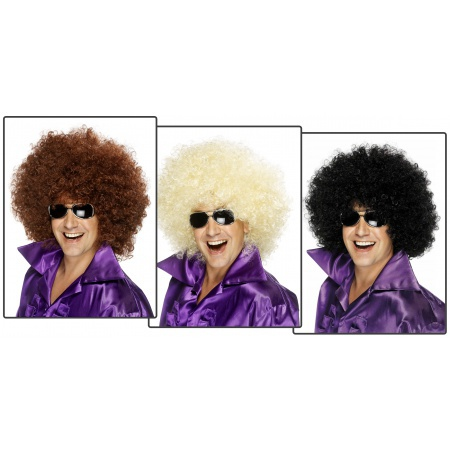 70s Afro Costume Wig image