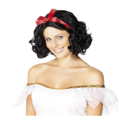 Snow White Wig For Adults image