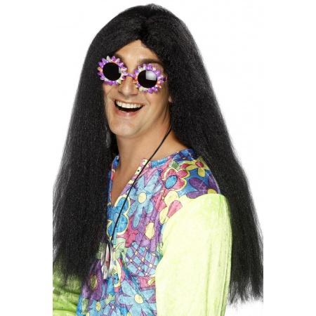 Long Black Straight Wig image