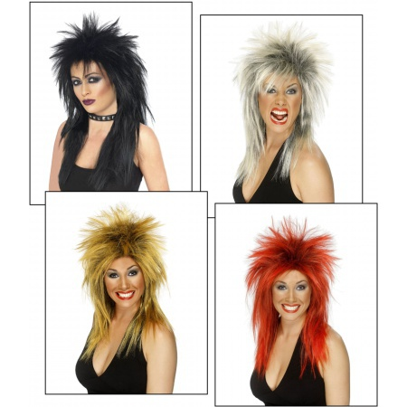 80s Wigs image