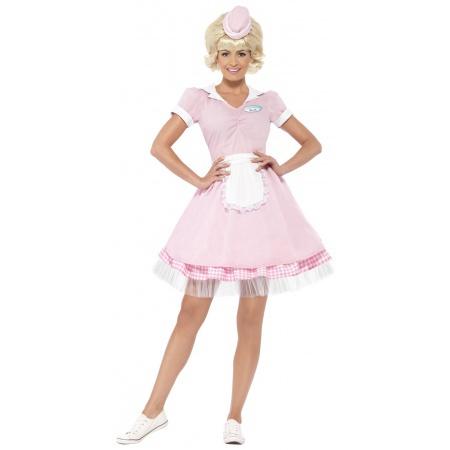 50s Waitress Costume image