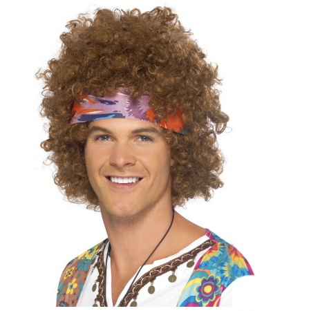 Hippie Afro Wig image