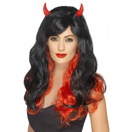 Devil Wig With Horns image