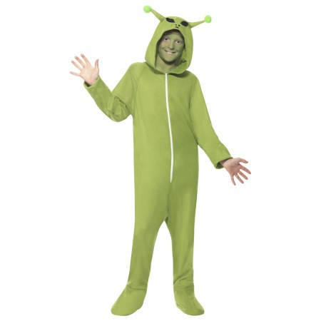 Onesie Alien Costume image