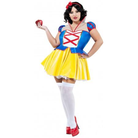 Plus Size Snow White Costume image