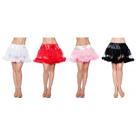 Marabou Trim Petticoat image