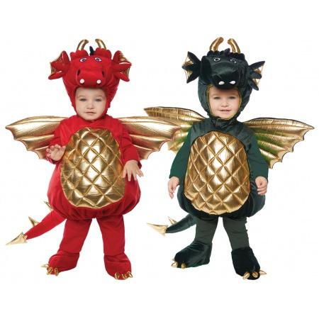 Toddler Dragon Costume image