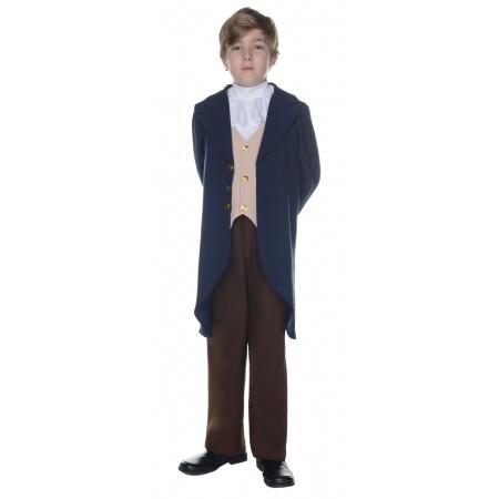 Child Thomas Jefferson Costume image