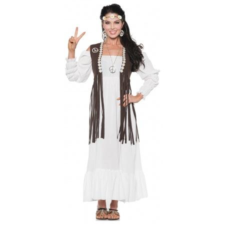Womens Hippie Costume image