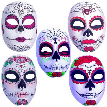 Womens Day Of The Dead Mask image