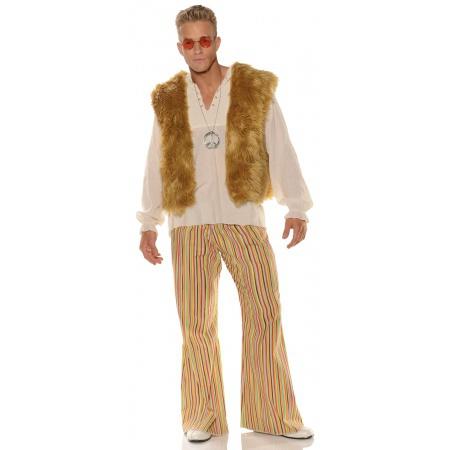 60s Theme Mens Hippie Costume image