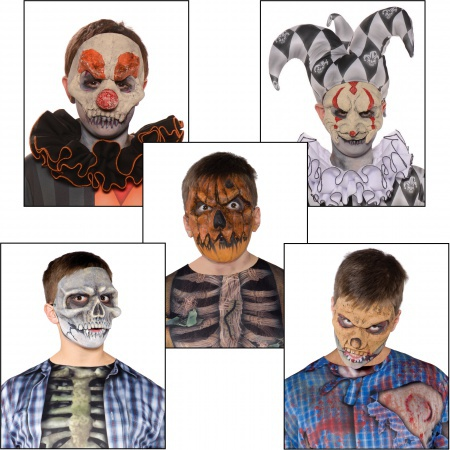 Scary Halloween Masks For Kids Or Adults image
